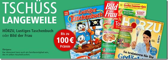 """image13 Zeitschriften Hörzu, """"das lustige Taschenbuch"""" und """"Bild der Frau"""" stark vergünstigt"""
