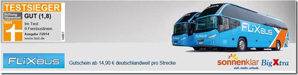 image188 FlixBus Gutschein für 14,90€ – quer durch Deutschland fahren