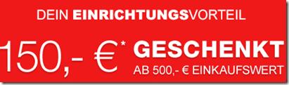 image268 XXXLShop: 150€ Gutschein (ab 500€ einlösbar)