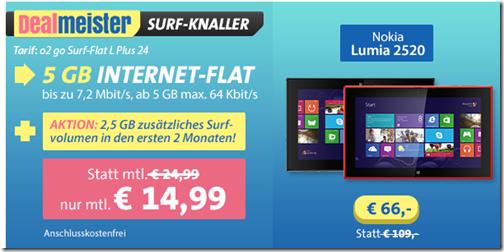 image28 [Knaller] Nokia Lumia 2520 inkl. 5GB o2 Datenflat für 425,76€ (Vergleich: 467,65€ ohne Datenflat)
