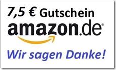 image287 7,50€ Amazon Gutschein für 6,50€