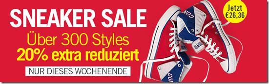 image289 MandMdirect: 20% Extra Rabatt auf Sneaker