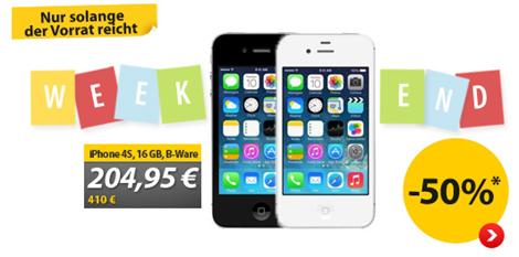 image316 [B Ware] Apple Iphone 4s 16GB für 204,95€ inklusive Versand