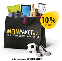 image361 Meinpaket.de: 10% Rabatt auf (fast) alle Artikel, so z.B. xBox One inkl. Fifa15 für 359,10€