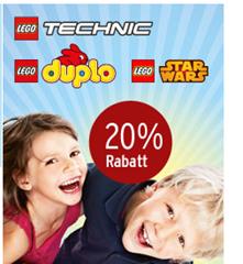 image42 20% Rabatt auf Lego Duplo, Lego Technic und Lego Star Wars