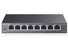 image458 TP LINK 8 Port Gigabit Easy Smart Switch (10/100/1000M RJ45 ports, lüfterloses Passivkühlkonzept) für 29,90€