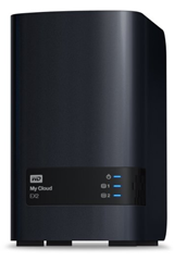 image476 WD My Cloud EX2 per­sön­li­cher Cloud Spei­cher (NAS) 4TB (2 Bay) mit inte­grier­ten WD RED Fest­plat­ten für 279€