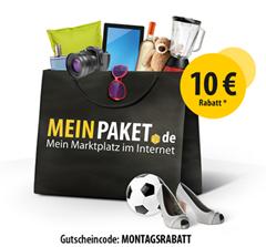 image492 10€ Rabatt bei Meinpaket.de (ab 50€ einlösbar)
