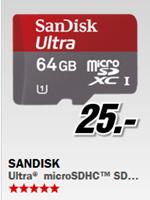 image499 bis 9Uhr: Sandisk 64GB microSDHC Karte für 25€