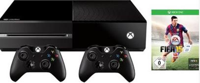 image503 [Knaller] Xbox One 500GB + FIFA 15 + 2 Controller für 324,99€
