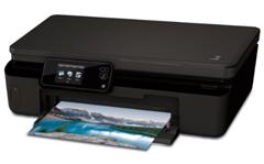image516 [B Ware] HP Photosmart 5520 Multifunktionsdrucker (A4, Drucker, Scanner, Kopierer, Wlan, USB, 4800x1200) für 39€
