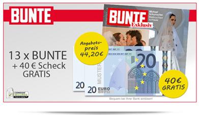 image thumb30 14 x Bunte für rechnerisch 4,20€ dank 40€ Verrechnungscheck
