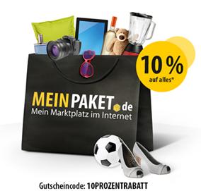 image thumb54 Meinpaket.de: 10% Rabatt auf (fast) alle Artikel