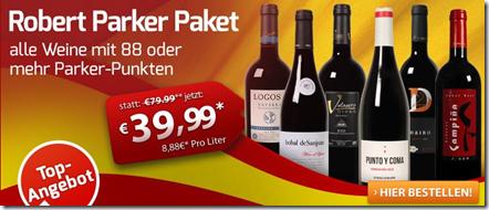 image112 Robert Parker Weinpaket mit bis zu 96 Punkten für nur 24,99 Euro zzgl. 6,50€ Versand