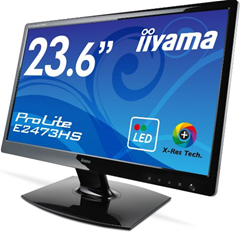 image126 [Top] Iiyama E2473HS GB1 59,9 cm (23,6 Zoll) widescreen TFT Monitor (LED, DVI, VGA, HDMI, 2ms Reaktionszeit) ab 84€