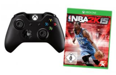 image222 Microsoft Xbox One Wireless Controller + NBA 2K15 für 79€
