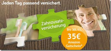 image276 Asstel Zahnzusatzversicherung ab 3€/Monat inkl. 35€ Amazon Gutschein (Laufzeit 24 Monate)