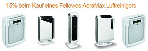 image342 Amazon: 15% Rabatt beim Kauf von Fellowes AeraMax Luftreiniger