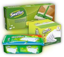 image370 Swiffer Starter Set + 36 Wischtücher Trocken + 24 Wet Wischtücher für 18,90€