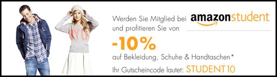 image381 Amazon Student: 10% Rabatt auf Bekleidung, Schuhe & Handtaschen