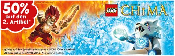 """image415 Toys""""R""""Us: LEGO Chima – 50% Rabatt auf den zweiten Artikel"""