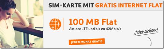 image429 Simyo: 100MB LTE Datenflat monatlich gratis – einmalig 4,90€ für die Karte mit 5€ Guthaben