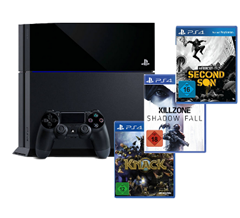 image43 Playstation 4 inkl. Killzone: Shadow Fall, Knack und inFamous Second Son für 379,90€