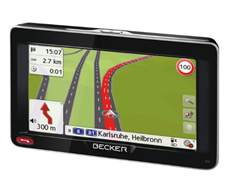 image432 Becker Ready 50 LMU Plus Navigationsgerät (47 Länder Europas inkl. Türkei & Russland, Lebenslange Kartenupdates, TMC, Bluetooth) für 129€