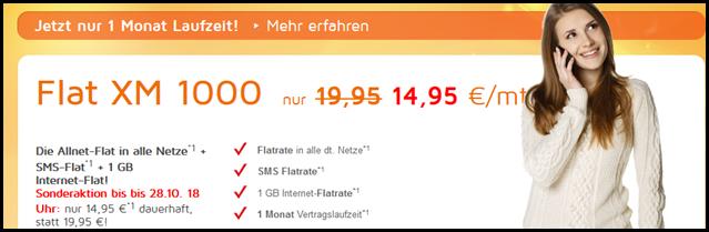 image434 SimDiscount (Flat in alle Netze, SMS Flat, 1GB Datenflat – o2 Netz) ohne Laufzeit für 14,95€/Monat