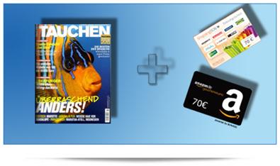 image446 Jahresabo Zeitschrift Tauchen für 4,40€ anstatt 74,40€