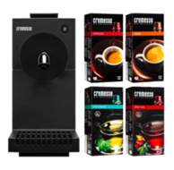 image463 CREMESSO Uno carbon black inkl. 4 Packungen Kapseln für 29€ zzgl. eventuell 4,99€ Versand