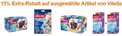 image480 Amazon: 15% Extra Rabatt auf ausgewählte Artikel von Vileda