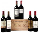 image529 Weinvorteil: Goldprämierte Bordeaux Selektion (6 Flaschen in einer Holzkiste) für 31,49€