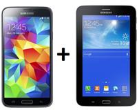image611 Samsung S5 + Tab 3 (einm. 1€) im o2 (Sprach  u. SMS Flat, 2GB Daten) + extra 1GB Datenkarte für 29,98€/Monat