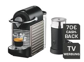 image thumb115 KRUPS Nespresso Pixie XN301T Edelstahl + Aeroccino3 Milchaufschäumer für 59€ dank 70€ Cashback