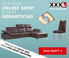 image thumb20 XXXLshop: 25€ Gutschein (ab 100€ einlösbar) für Möbel