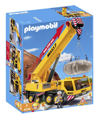 image thumb79 [Super] Playmobil Bau Schwerlast Mobilkran (4036) ab 33,96€