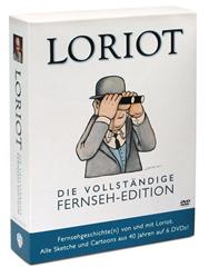 image thumb84 Loriot   Die vollständige Fernseh Edition   Alle Sketche und Cartoons aus 40 Jahren [6 DVDs] für 21,99€