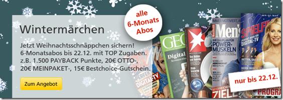 image thumb Halbjahresabos teilweise mit Gewinn beim Leserserivce der Deutschen Post lesen