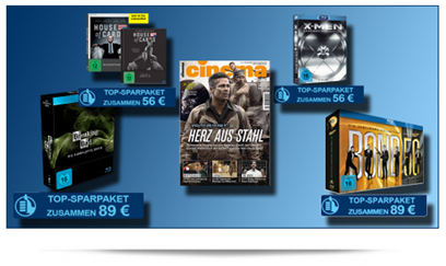 image Jahresabo der Zeitschrift Cinema mit verschiedenen Blur ray Boxen, so z.B. mit Breaking Bad Komplett für 89€