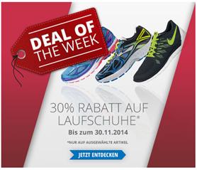 image Engelhorn: 30% Rabatt auf Laufschuhe + 10€ Newsletter Rabatt (ab 60€ MBW)