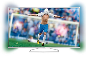 image Philips 55PFK6609/12 140 cm (55 Zoll) 3D Ambilight LED Backlight Fernseher für 799,99€