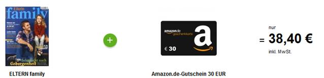 """image Jahresabo """"Eltern Family"""" für 8,40€ anstatt 38,40€"""
