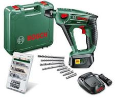 image BOSCH Schlagbohrhammer Bohrmaschine Uneo Maxx + 19 tlg. Uneo Zubehör Set für 129,99€
