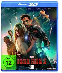 image Iron Man 3 (inkl. 2D Version) [3D Blu ray] für 8,97€
