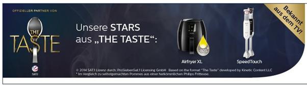 """image Amazon: 20% Rabatt auf """"The Taste"""" von Philips"""