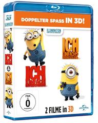 image Ich   Einfach unverbesserlich 1&2 [Blu ray 3D] für 18,97€