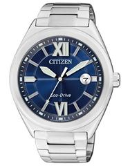 image Citizen Herren Armbanduhr XL Analog Quarz Edelstahl AW1170 51L für 66,75€