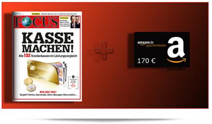 """image 52 Ausgaben """"Focus"""" für 22,40€ anstatt für 192,40€"""