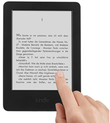 image Amazon´s Kindle eReader für 49€